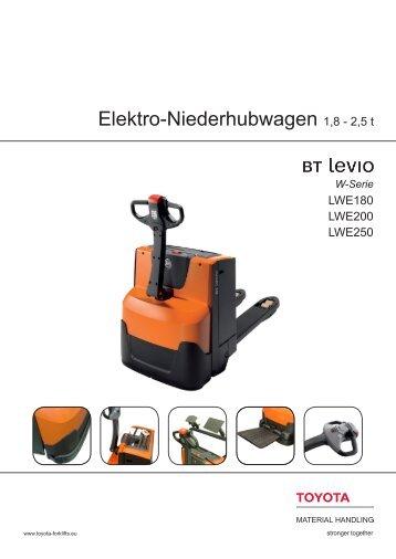 Elektro-Niederhubwagen 1,8 - 2,5 t - Toyota Material Handling ...
