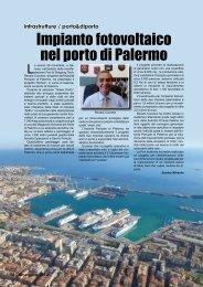 Impianto fotovoltaico nel porto di Palermo - Porto & diporto
