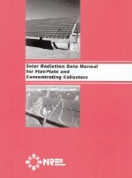 Solar Radiation Data Manual - Renewable Resource Data Center ...