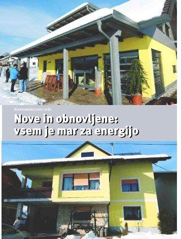 Nizkoenergijske hiše