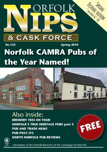 Norfolk CAMRA Pubs of the Year Named! - Norwich and Norfolk ...