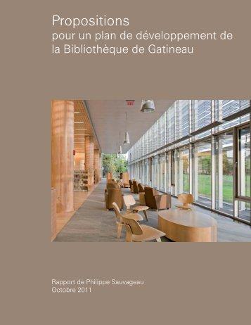 Étude Sauvageau - Ville de Gatineau