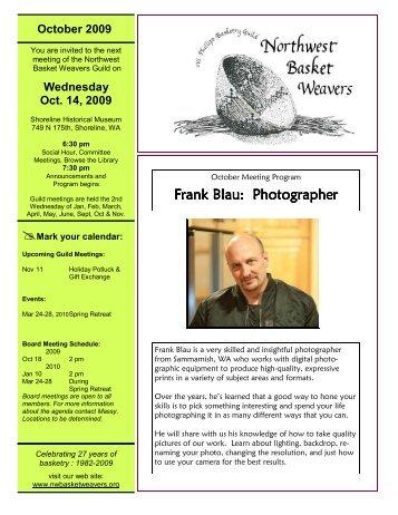 Frank Blau: Photographer Frank Blau: Photographer - Northwest ...