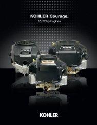 KOHLER® Courage Single-Cylinder - Kohler Engines