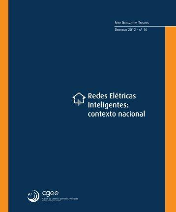 Redes Elétricas Inteligentes: contexto nacional - CGEE