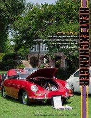 fEATurEd THis monTH rPm 2011 - Shenandoah Region Porsche ...