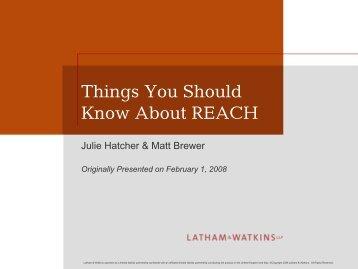Registration - Latham & Watkins