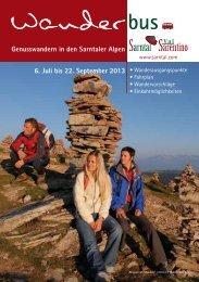 Wanderbus-Broschüre2013 - Sarntal