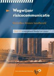 Wegwijzer Risicocommunicatie Deel 2 (pdf) - Provincie Overijssel