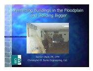 Permitting Buildings in the Floodplain and Building Bigger