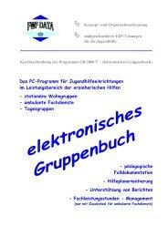 elektronisches Gruppenbuch GB 2000 - FWF DATA * Konzept- und ...