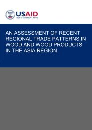 an assessment of recent regional trade patterns in wood and wood ...