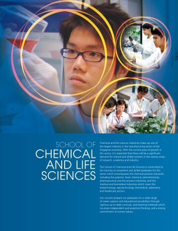 CHEMICAL AND LIFE SCIENCES - Singapore Polytechnic