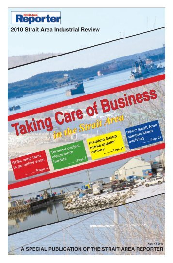 Taking Care of Business in the Strait Area.pdf - The Pictou Advocate