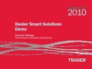 Dealer Smart Solutions Demo