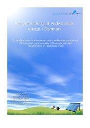 En detaljeret analyse af problemer med et vedvarende energianlæg i