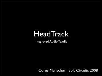 HeadTrack - Corey Menscher