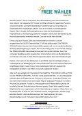 """Piazolo: """"Innenministerium legt Verfassung zu ... - Freie Wähler Bayern - Page 2"""