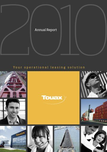 2010 annual report - touax group