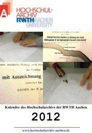 2 - Hochschularchiv der RWTH Aachen