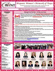HWNT Vision Newsletter February 2013 - Hispanic Women's ...