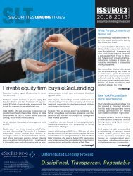ISSUE083 - Securities Lending Times