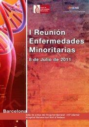 Programa I Reunión Minoritarias - Sociedad Española de Medicina ...