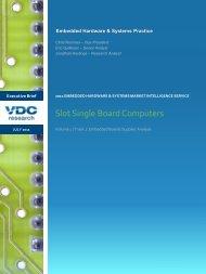 Slot Single Board Computers - VDC Research