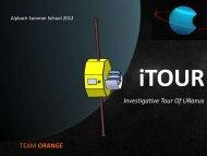 Instruments - Summer School Alpbach 2013