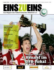 Liebe Sportfreunde - Fußball-Verband Mittelrhein e.v.