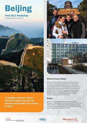 Download Beijing Fam trip information (.pdf) - IALC