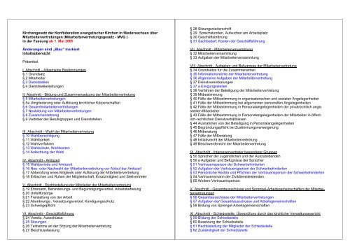 PDF - AG MAV Diakonische Werke Niedersachsen