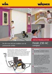 Finish 230 AC Compact op wagen brochure - Wagner