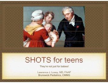Update on Immunizations