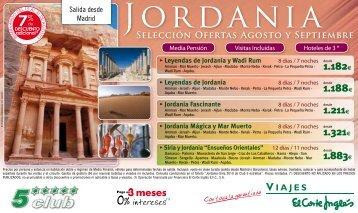 JoRDAniA - Viajes El Corte Inglés