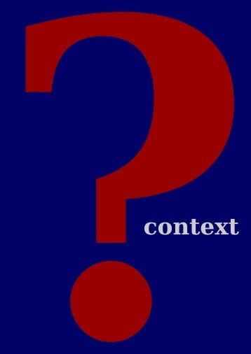 What is ConTeXt - Pragma ADE