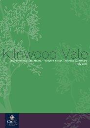 kilnwood vale environmental statement non-technical summary