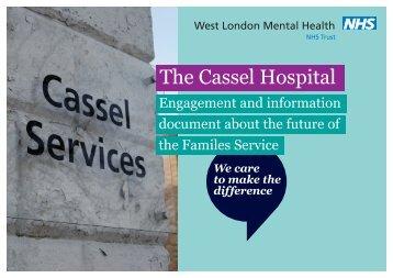 Cassel engagement document - West London Mental Health NHS ...