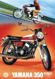 35. YAMAHA 350 R5 (1970)