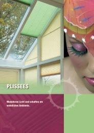 Prospekt Cosiflor-Plissees - Solarmatic