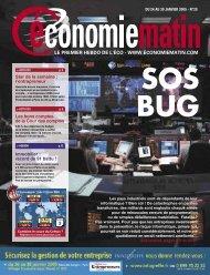 le premier hebdo de l'éco - www.economiematin.com 3 - Watine Taffin