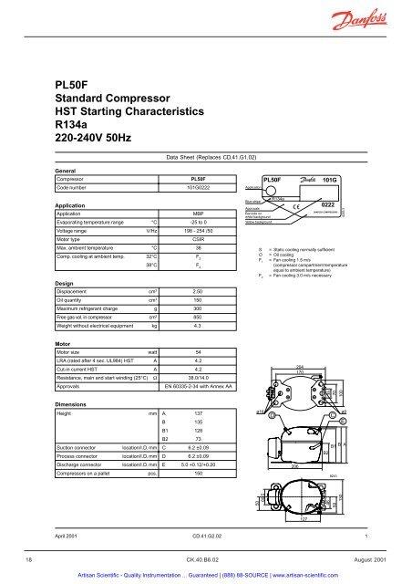 Capacity (EN 12900/CECOMA on