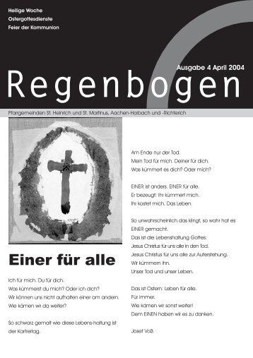 Regenbogen April 2004 - St. Heinrich