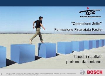 Formazione Finanziata Facile - Bosch