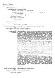 Dott.ssa Giancarla Lospinuso - ATER MATERA