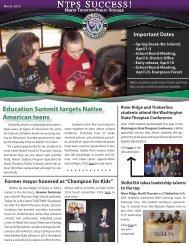 NTPS Success E-Newsletter March 2013 - North Thurston Public ...