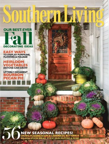 "Southern Living, ""Decorate with the Bounty of Fall"" - James Farmer"