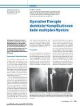 Operative Therapie skeletaler Komplikationen ... - Tumororthopädie - Page 2