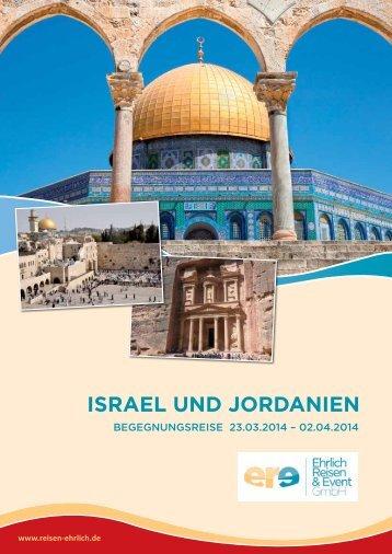 ISRAEL und joRdAnIEn - Ehrlich Reisen & Event GmbH