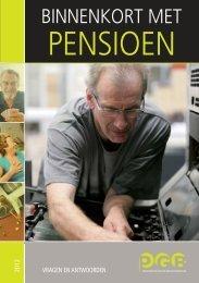 Binnenkort met pensioen - PGB